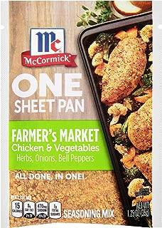 McCormick Farmer's Market Chicken & Vegetables One Sheet Pan Seasoning Mix, 1.25 oz