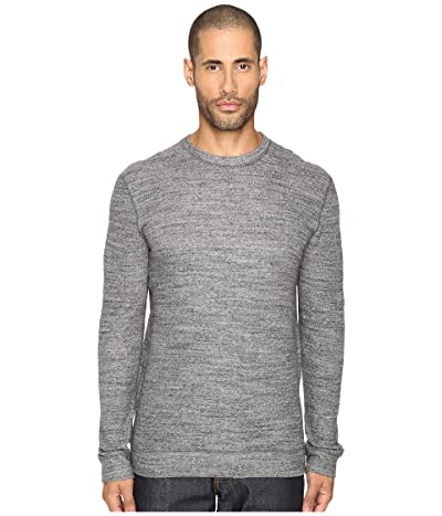 Naked & Famous Vintage Doubleface Sweater (Charcoal) Men