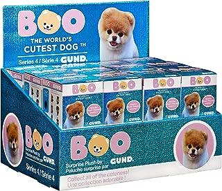 GUND Boo World's Cutest Dog Boo Blind Box Series #4 Snacks Surprise Mystery Plush, 2.75