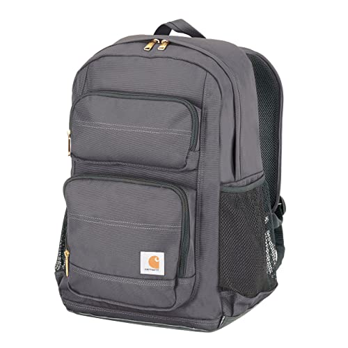 9bbf4d6e5f8cac Carhartt Legacy Standard Work Backpack with Padded Laptop Sleeve and Tablet  Storage, Grey