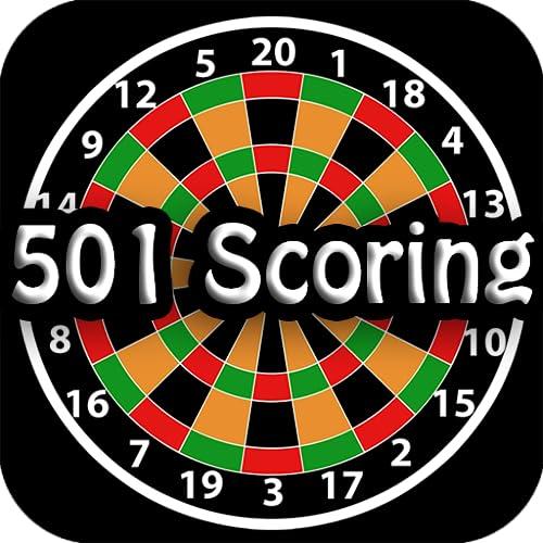 Darts 501 Scoring