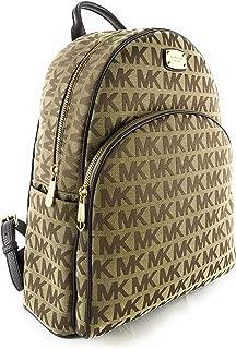 Michael Kors Abbey Large Jet Set Backpack BG/EB / MOCHA
