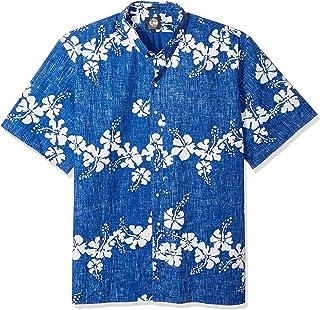 Reyn Spooner Men s 50th State Flower Spooner Kloth Classic Fit Hawaiian  Shirt 0531be1f2