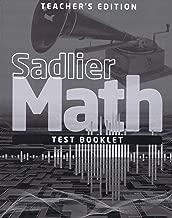 Sadlier Math, Grade 3, Test Booklet Teacher's Editiion