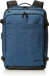 AmazonBasics Slim Carry On Laptop Travel Weekender Backpack - Green
