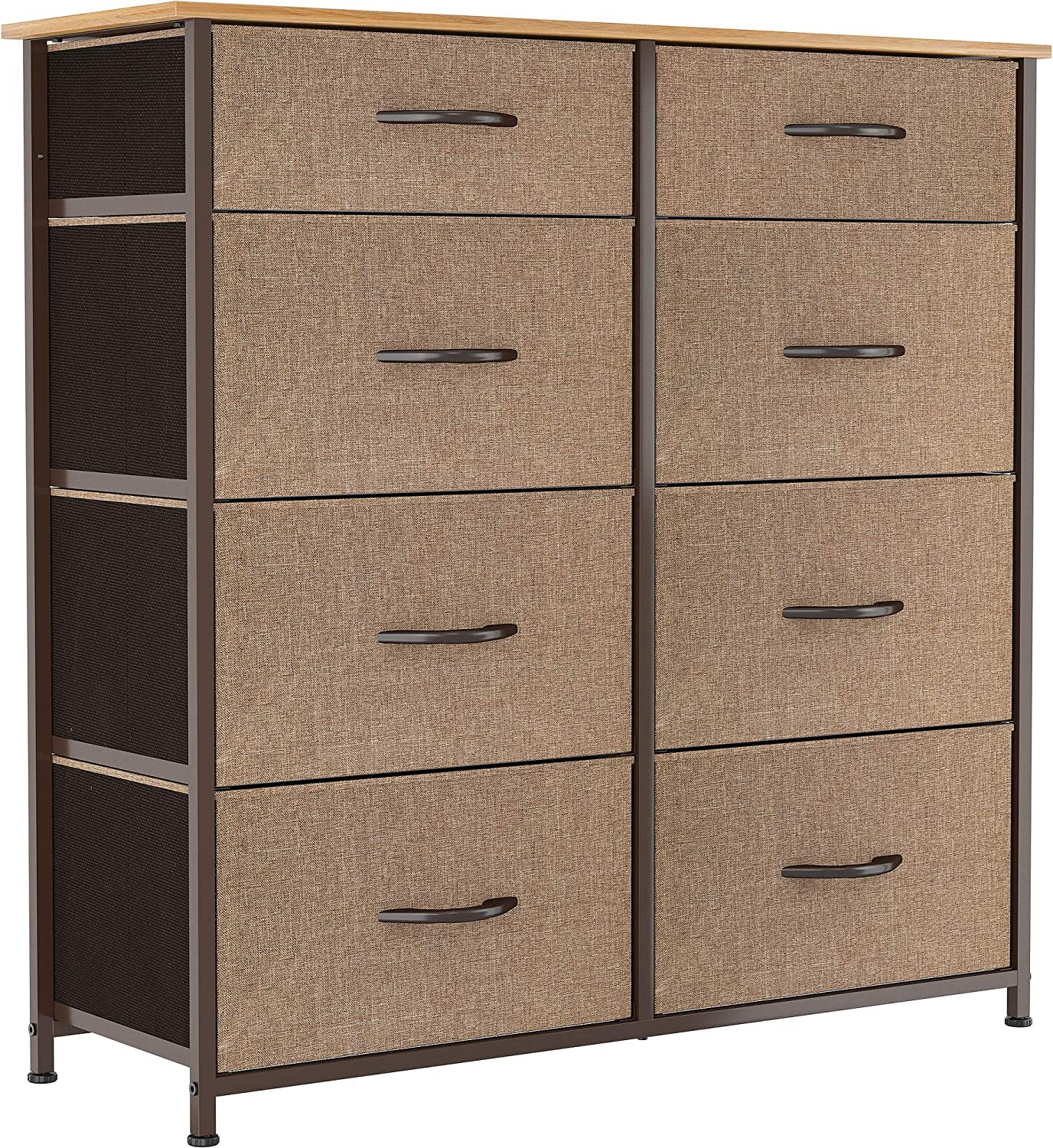 YITAHOME Tall Dresser Max 67% OFF with 8 Drawers Fashionable Furniture T Fabric Storage
