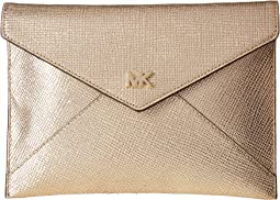 MICHAEL Michael Kors Barbara Medium Soft Envelope Clutch