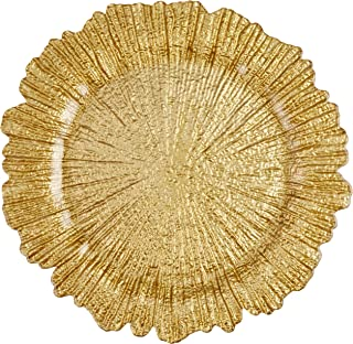 ChargeIt by Jay Reef Charger Plate, Gold