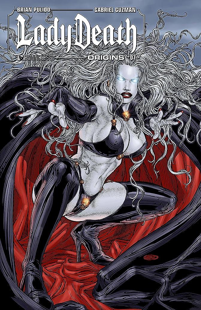側ヘッドレスシーンLady Death Origins #7 (Lady Death: Origins) (English Edition)