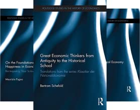 Routledge Studies in the History of Economics (151-200) (50 Book Series)