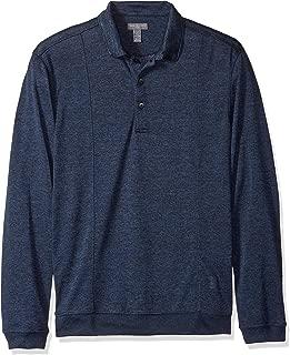 Men's Sweater Fleece Long Sleeve Polo