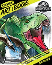 Crayola Art With Edge, Jurassic World Coloring Book, Gift for Teens, 30 Coloring Pages