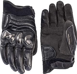 Dainese Settantadue Ergo72 Leather Motorcycle Gloves Black (XX-Large)