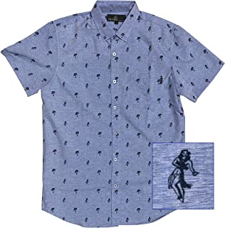 6323901c4 M MOLOKAI SURF Official Molokai Button up Slim Fit Hawaiian Short Sleeve  Shirts