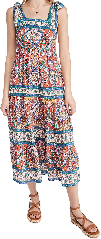 Shoshanna Women's Sleeveless Midi Dress