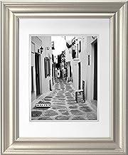 إطار صور مزدوج مطفأ، 20.32 سم × 25.4 سم × 35.56 سم، فضي من شركة مالدن إنترناشونال ديزاينز