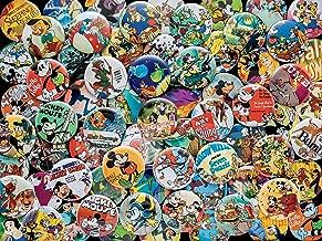 vintage button pins