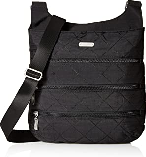 Baggallini Quilted Big Zipper Bagg with RFID
