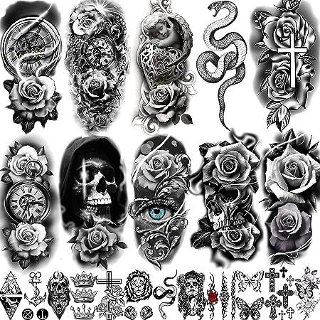Tattoos vorlagen oberarm frauen Tattoo Löwenkopf
