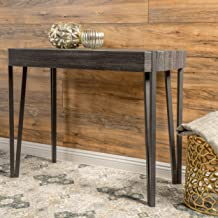 Christopher Knight Home Vidar Laminated Wood Console Table, Black