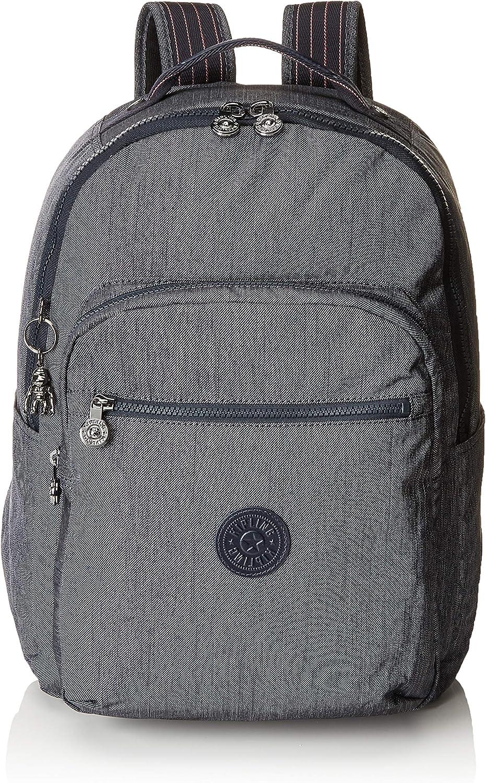 Kipling Seoul Baby Backpack Bag Organiser, 44 cm, 26 liters, bluee (Active Denim)
