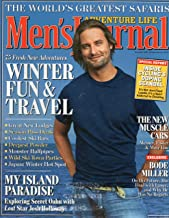 Men's Journal, Single Issue, Volume 15, Number 10, November 2006, JOSH HOLLOWAY on Cover Photographed by JEFF LIPSKY, Production by FX Group