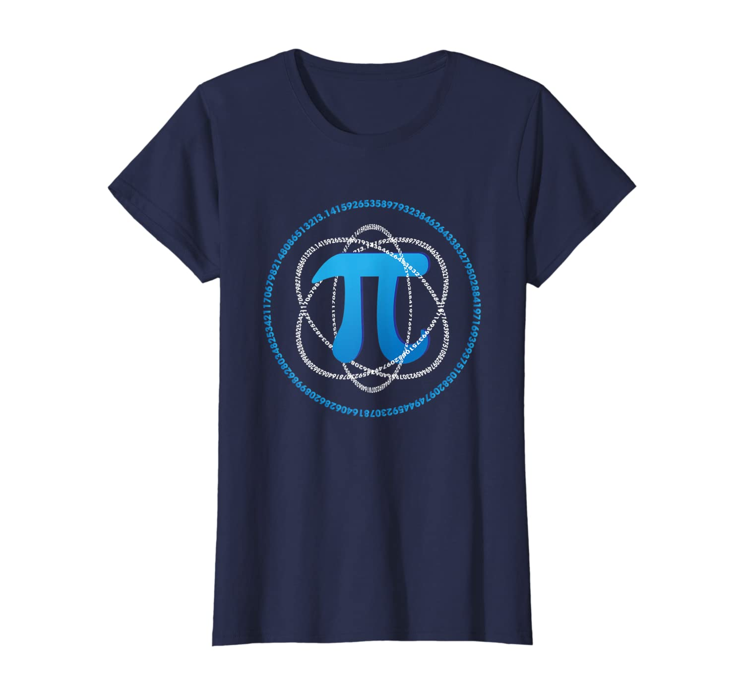 Aneisha PI Day Atom PI Math Science Gift Men Women Kids T-Shirt