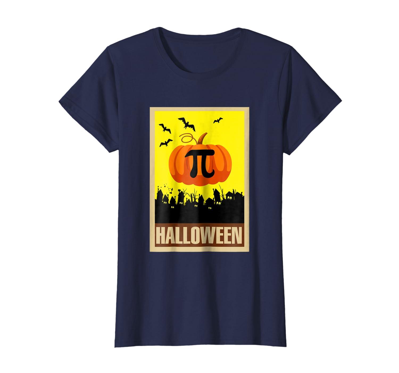 Pumpkin Pi Shirt Vintage Pumpkin Pi Funny Math Gift-Awarplus