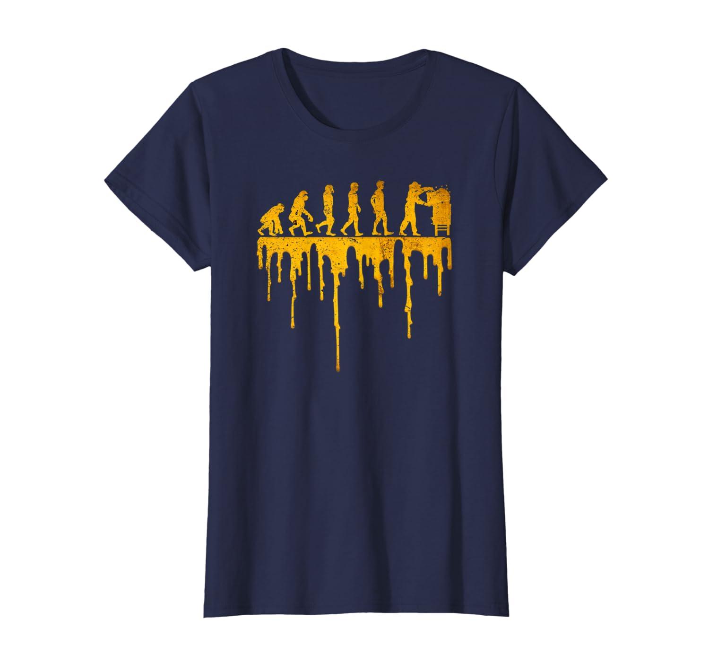 """""""Beekeeper Evolution"""" Funny Honey Beekeeping T-shirt"""