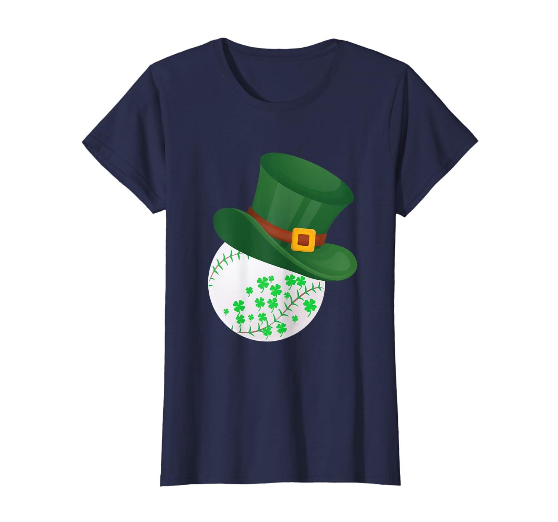 Shamrock Baseball Leprechaun St Patricks Day Gifts  T-Shirt