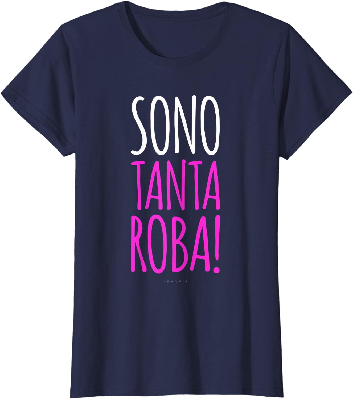 Sono Tanta Roba Maglietta Donna Magliette Donna Manica Corta Divertenti
