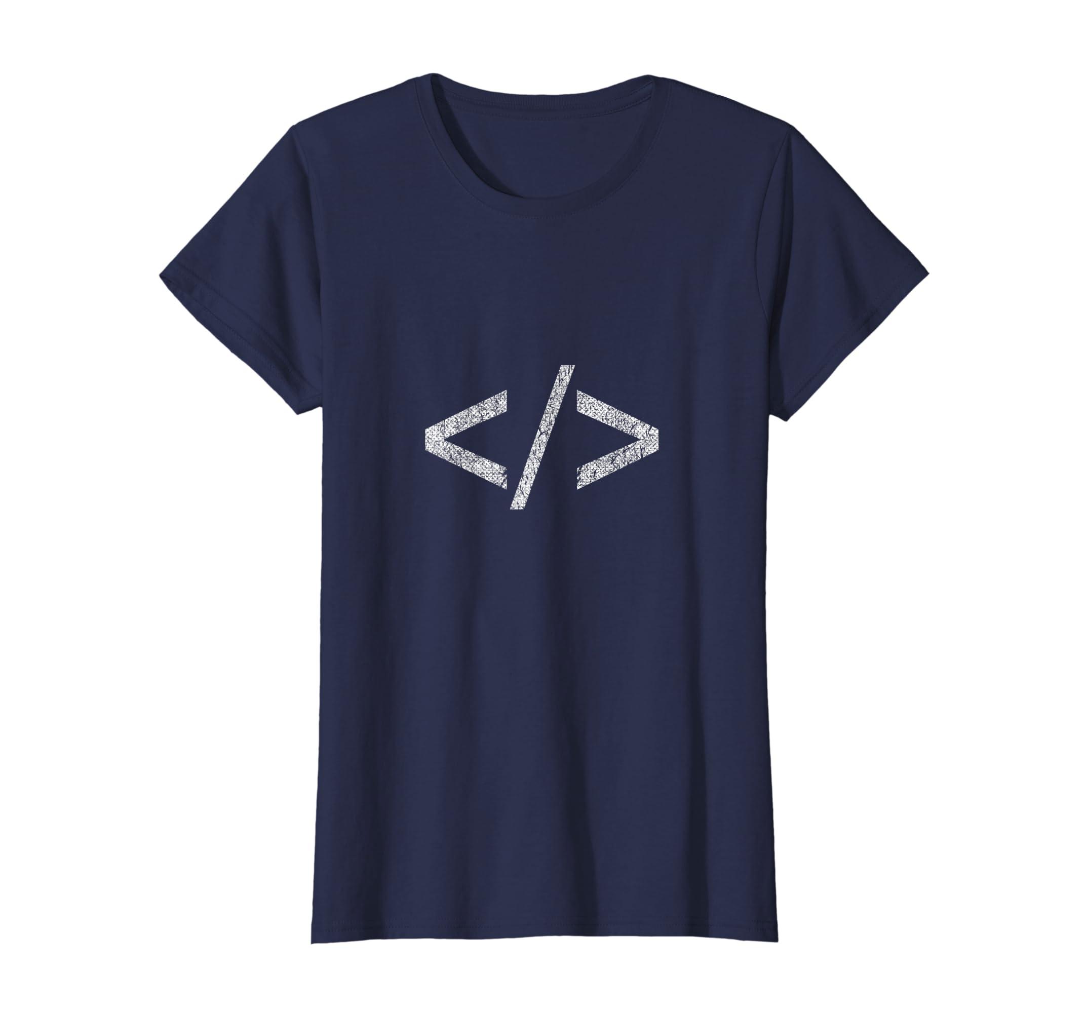 Amazon.com  Minimal HTML Tag T-Shirt Web Designer Tee Shirts  Clothing 5f7d6b35ee13