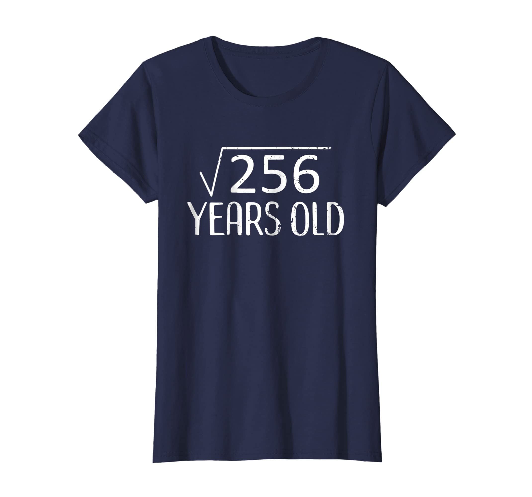 Amazon Square Root 256 TShirt Funny 16th Birthday Gift 16 Years Old Clothing