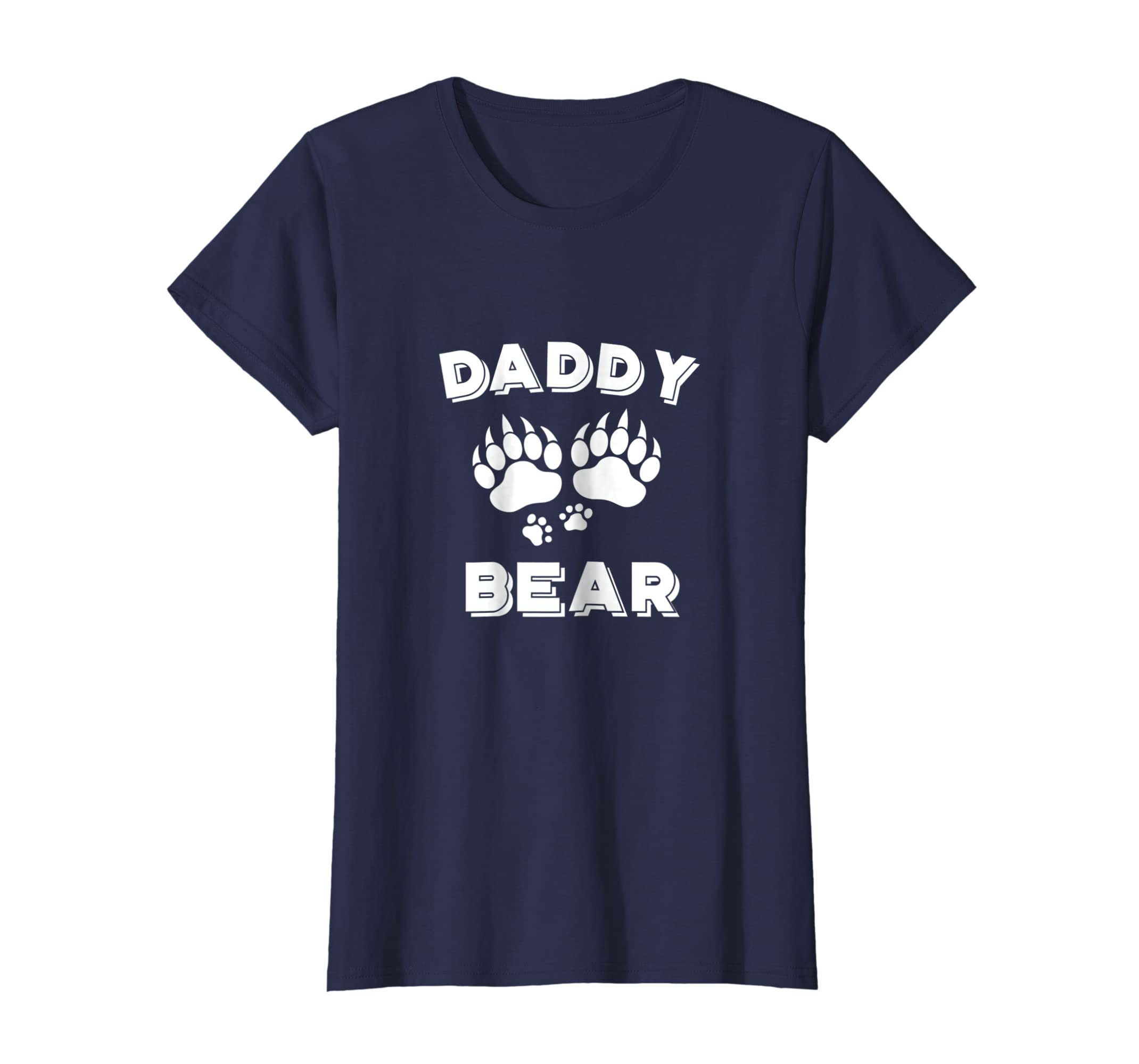 5bcbadd0 Amazon.com: Daddy Bear T-Shirt Awesome Camping Fathers Day Gifts: Clothing