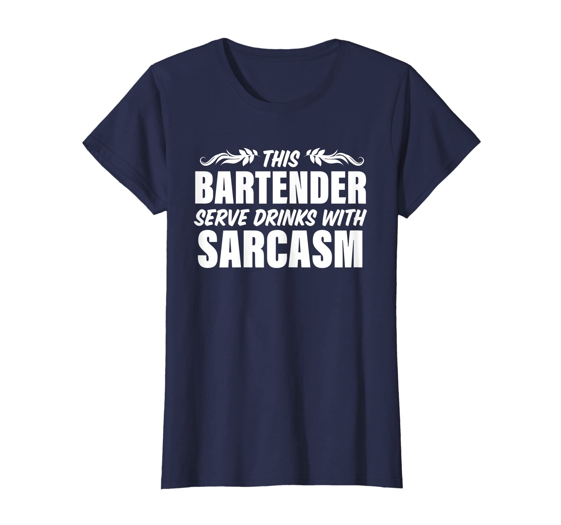 097973c6 Amazon.com: Bartender Funny Shirt Sarcasm Gift Tshirt for Men Women:  Clothing