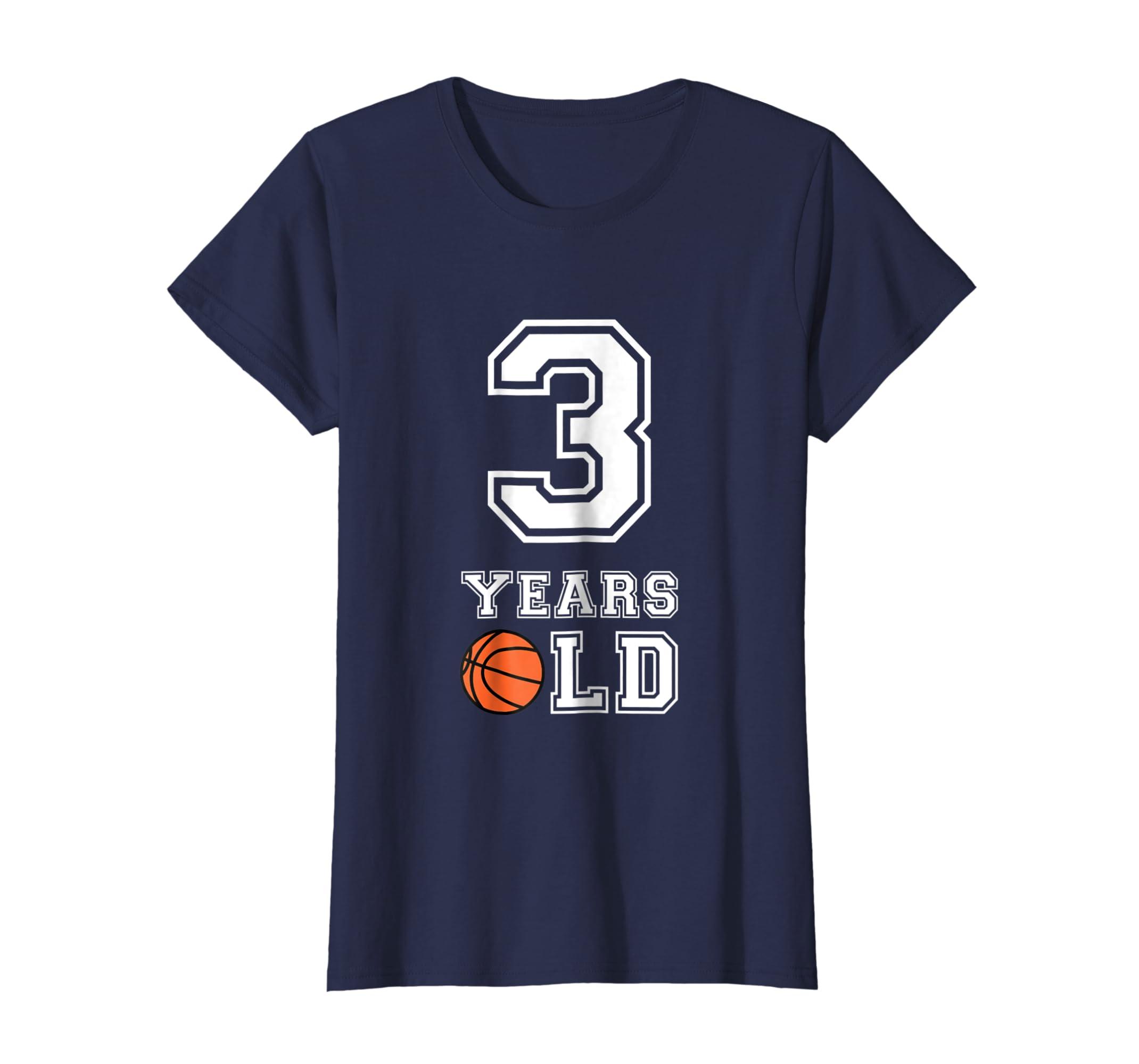 Amazon 3 Years Old Basketball Birthday Shirt Boys 3rd Gift Clothing