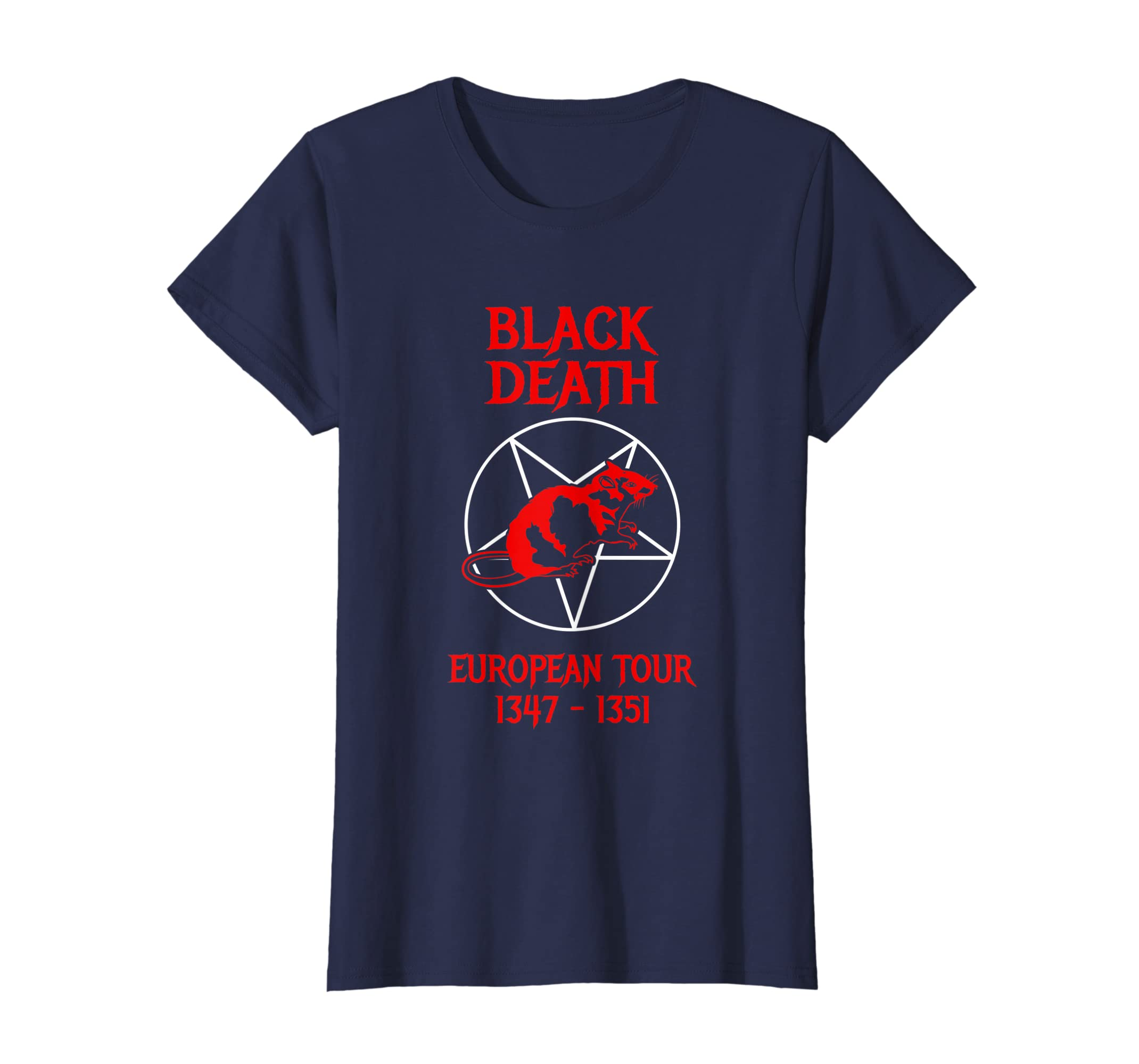 Black Death European Tour T-Shirt – Funny History-Loveshirt