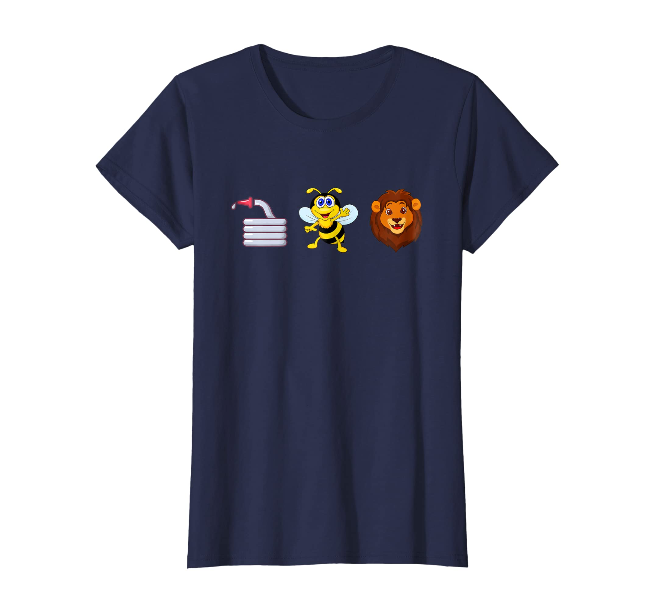 Amazon com: Hose Bee Lion Funny Meaning T-shirt Hoes Be Lying Double