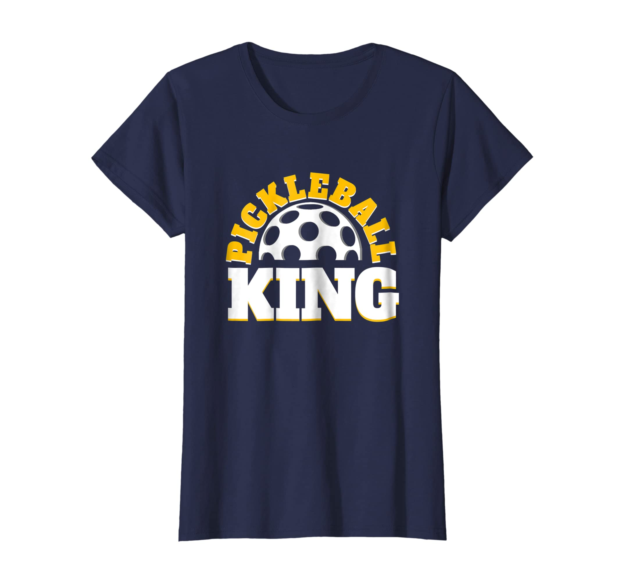 a680275fdb Amazon.com: Pickleball Dink King - Men Woman T Shirt: Clothing