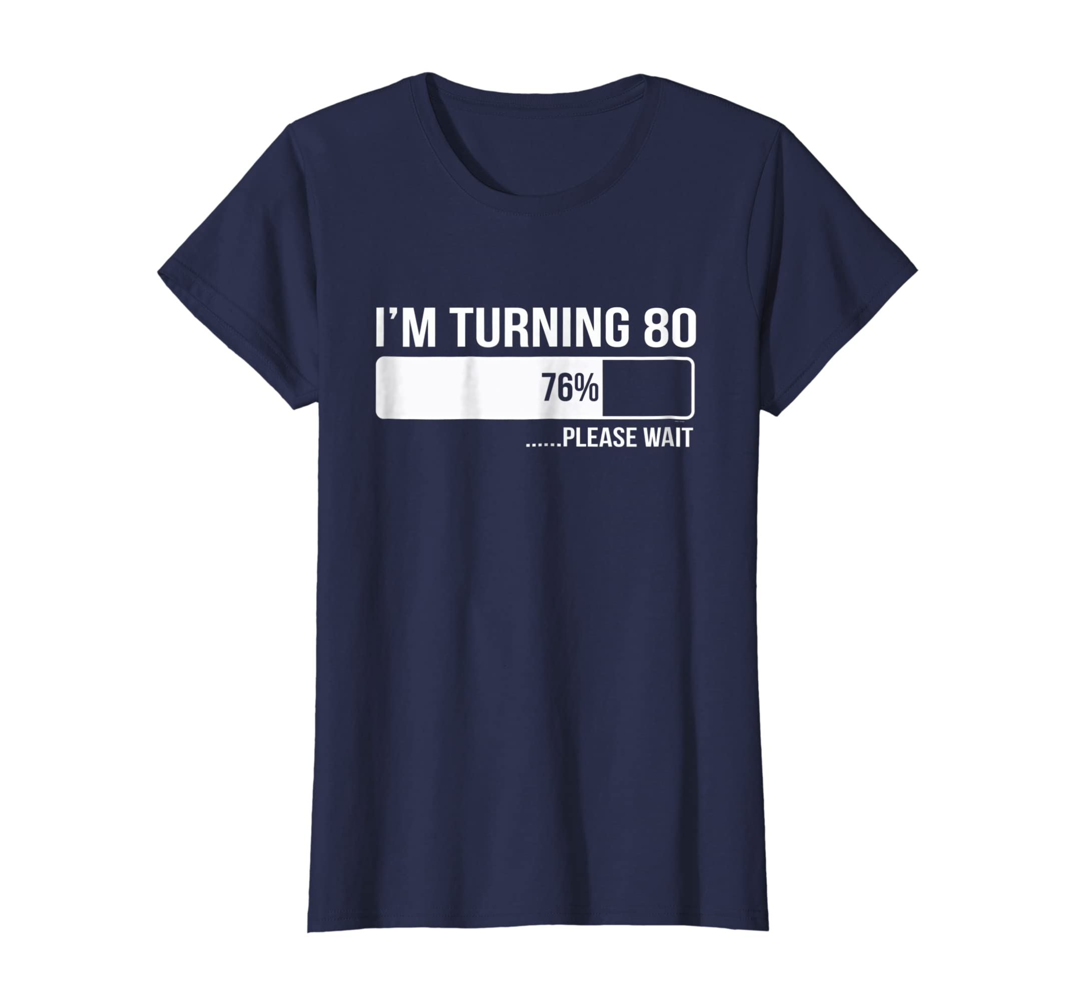 Amazon 80th Birthday Funny Gift For Him Or Her Turning 80 Tee Shirt Clothing