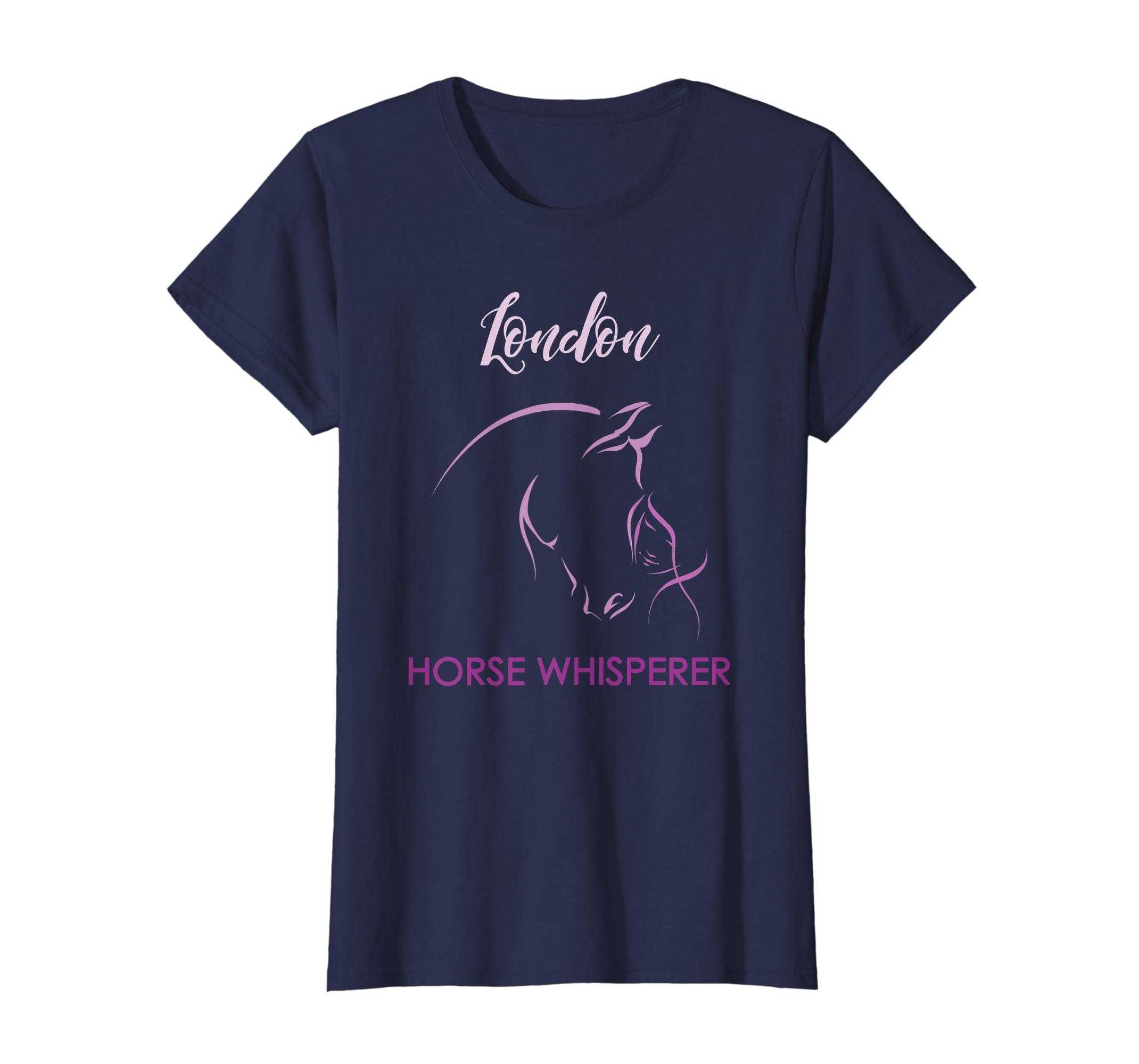 Amazon London Horse Whisperer Personalized Name Birthday Gift Clothing