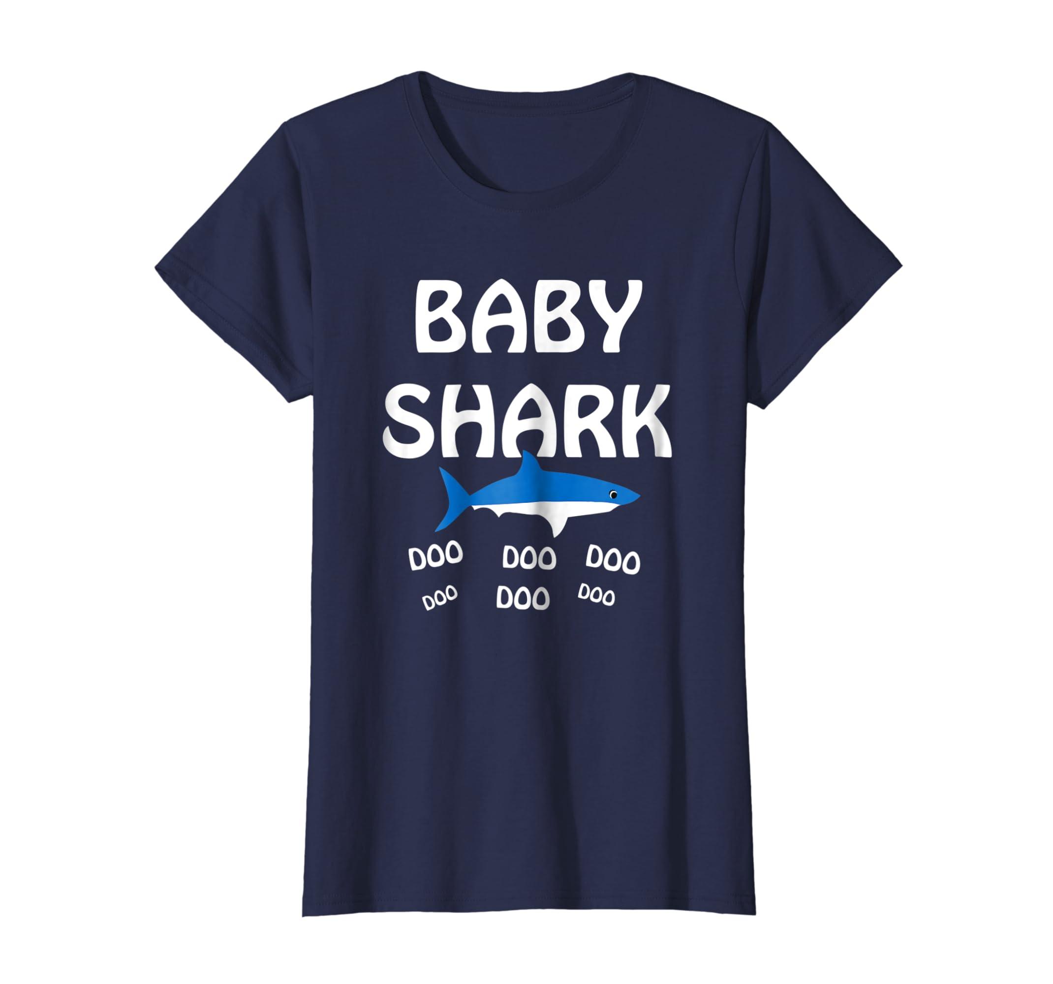 fd1f17462 Amazon.com: Kids Baby Shark Doo Doo Doo T-shirt - Matching Family Shirt:  Clothing