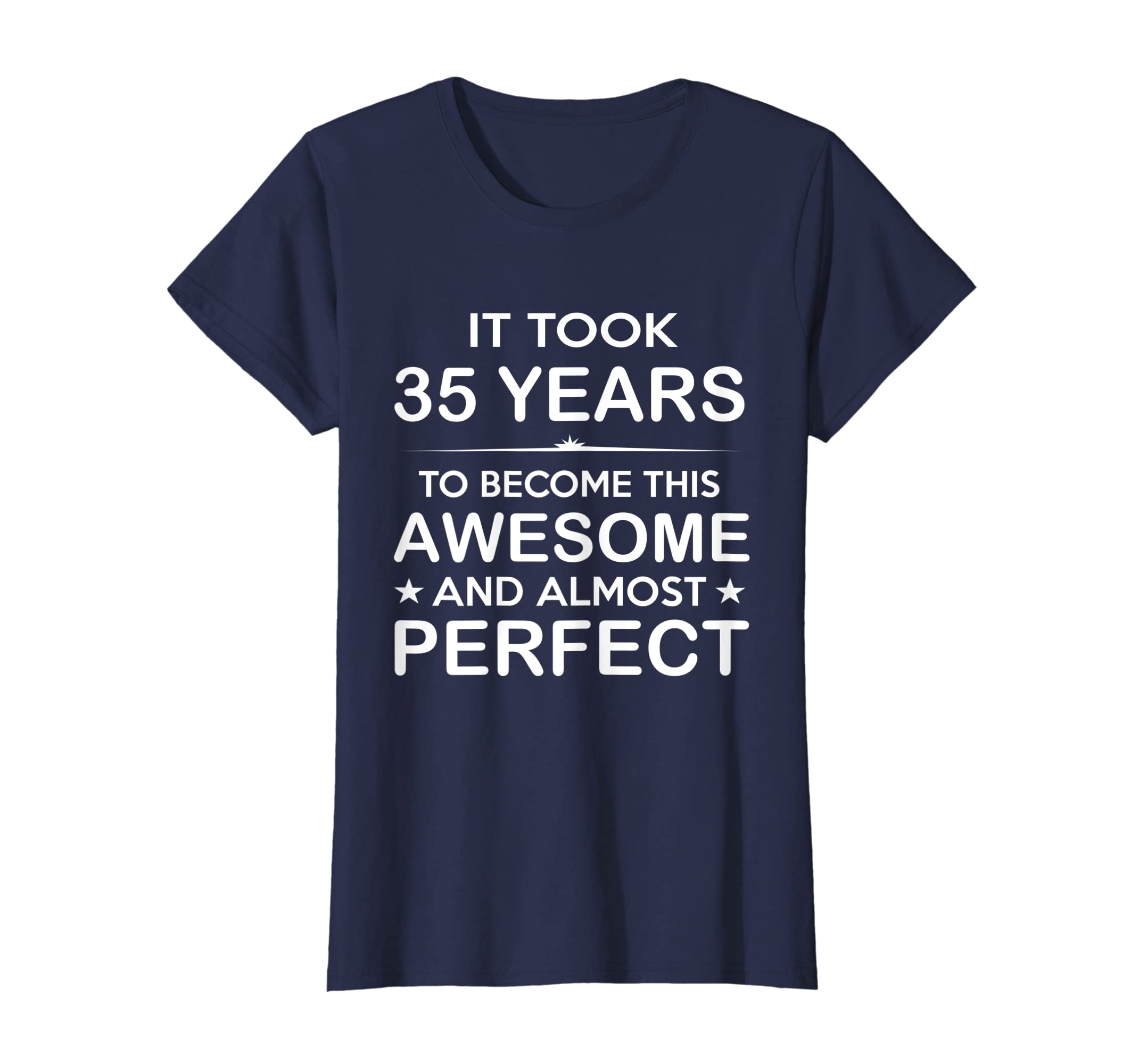 Amazon Thirty Five 35 Year Old 35th Birthday Gift Ideas Her Him Clothing