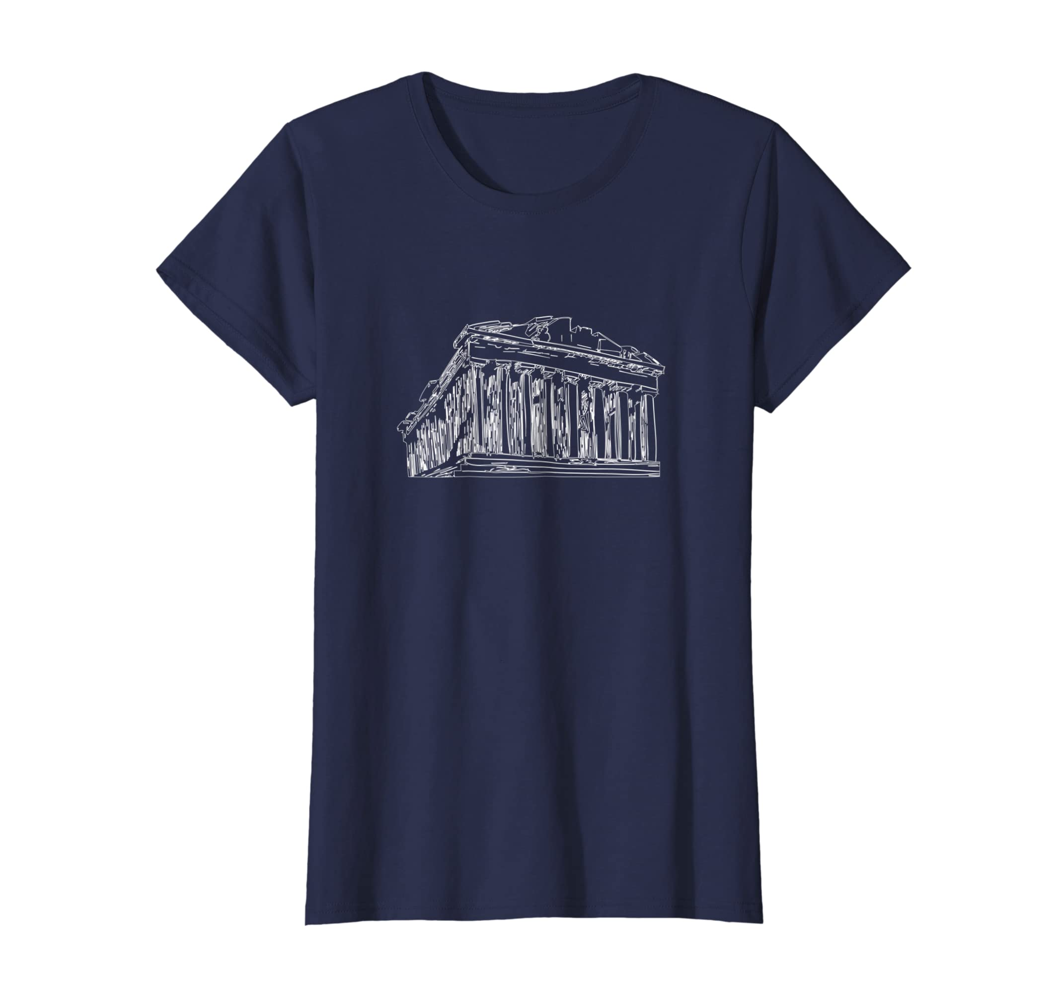 Amazon.com  Parthenon Acropolis Of Athens Athens Greece T-Shirt Tee   Clothing fd35a2d7bed