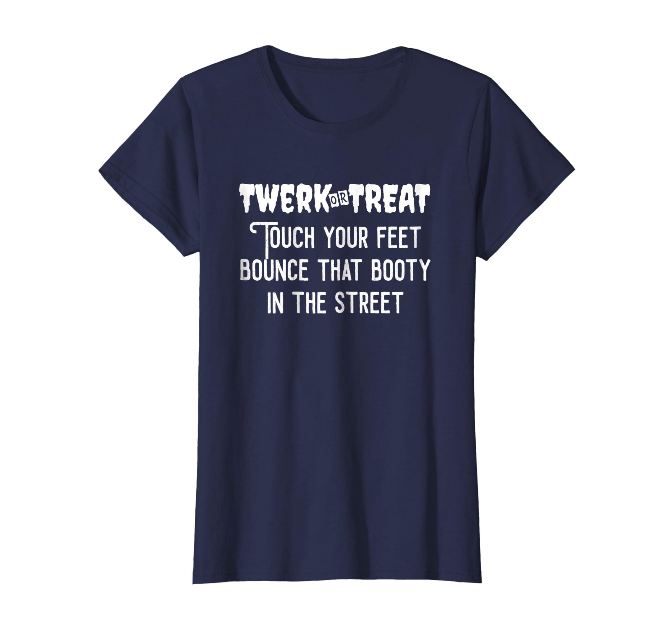 31507d919c20 Amazon.com: Twerk Or Treat Halloween Party SHIRT Halloween Costume Gift:  Clothing