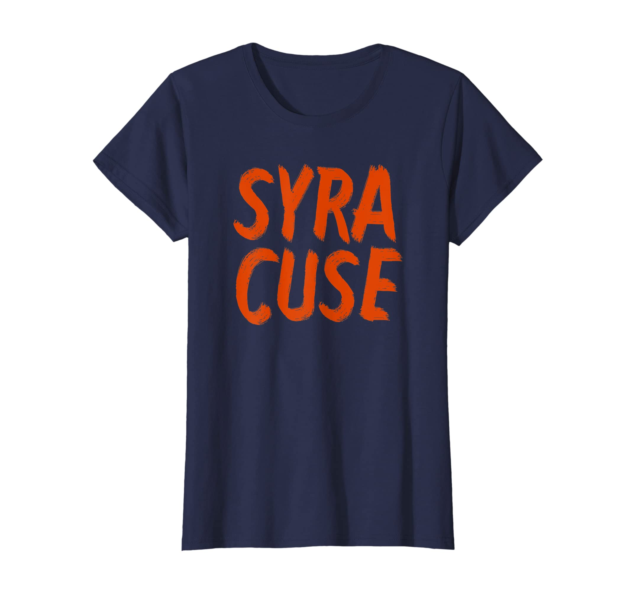 f685bee7a Amazon.com  Syracuse NY T-Shirt - Root for Your Home Team!  Clothing