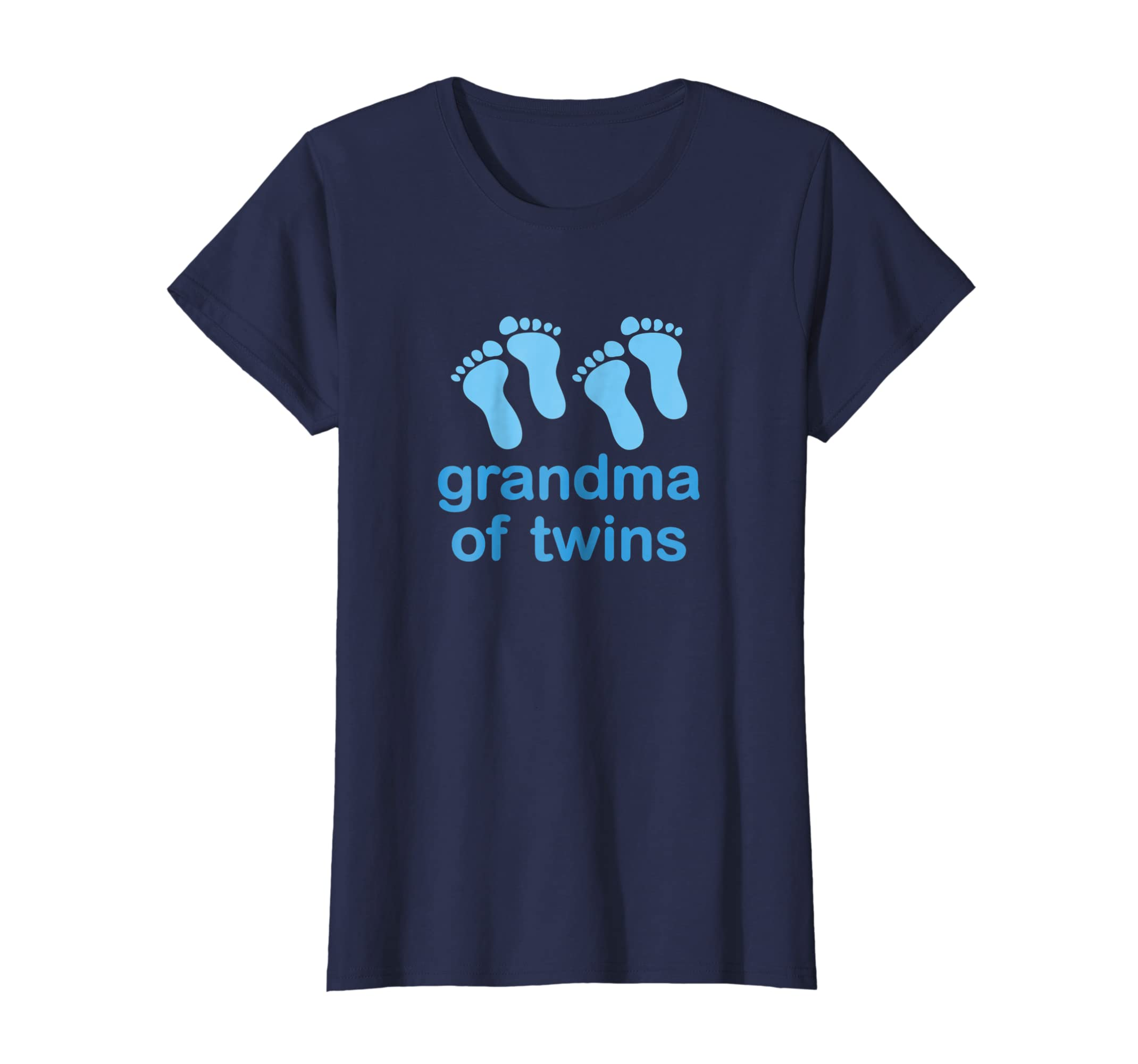aa04beae5 Amazon.com: Grandma Of Twins Shirt New Grandmother Tee: Clothing