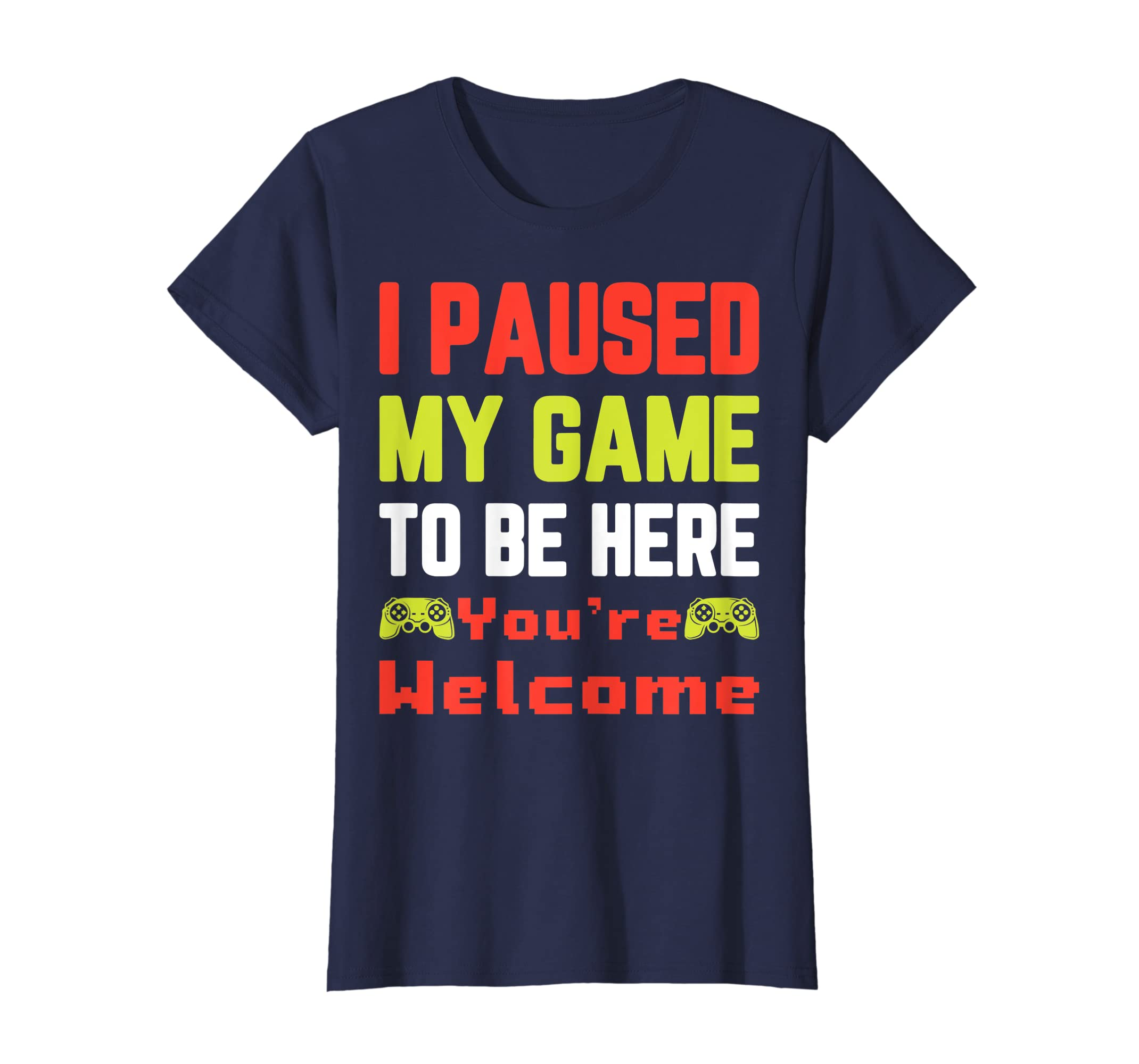Amazon Husband Birthday Gamer Dad Funny Fathers Day Gift T Shirt Clothing