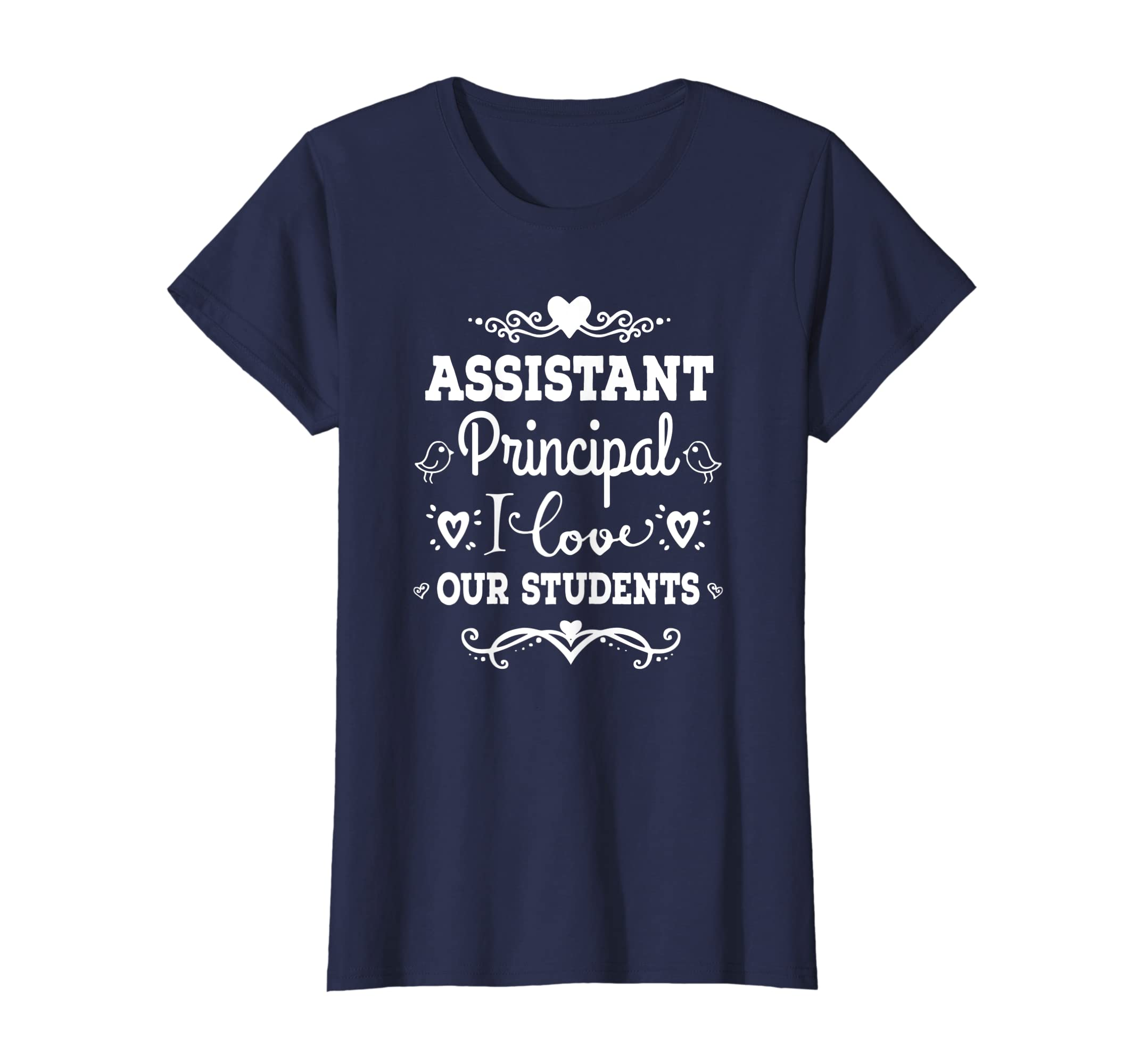 afaf8d83 Amazon.com: Assistant Principal T-shirt Cute Back To School Gift Tee:  Clothing