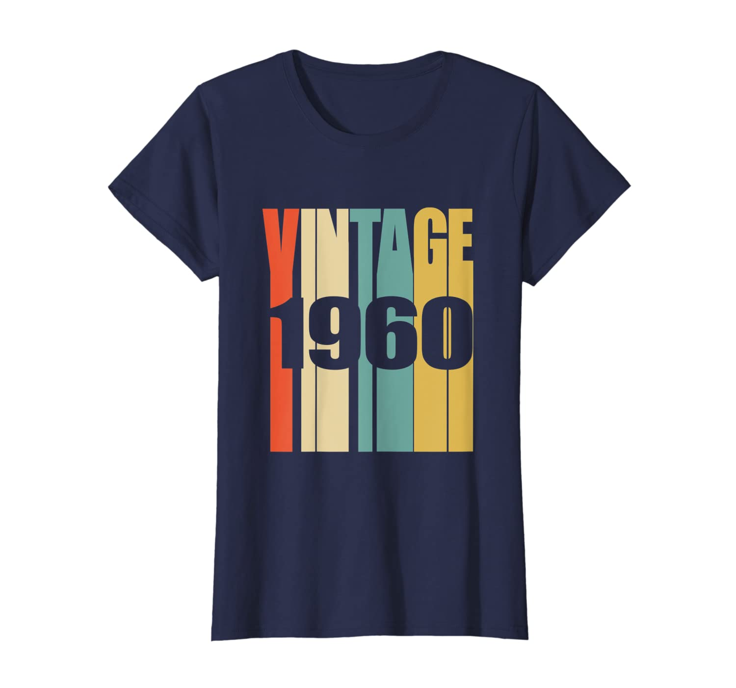 38696518 Amazon.com: Retro Vintage 1960 T-Shirt 59 yrs old Bday 59th Birthday Tee:  Clothing